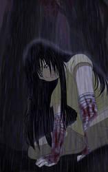 Yasha in the Rain - Colored by Kikirini