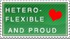 heteroflexible pride stamp by Kikirini