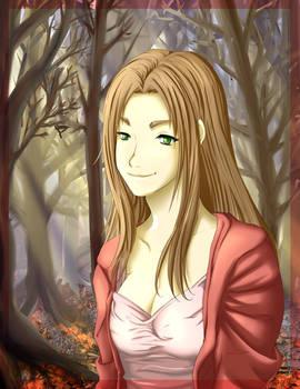 Makoto in Pink -Redraw-