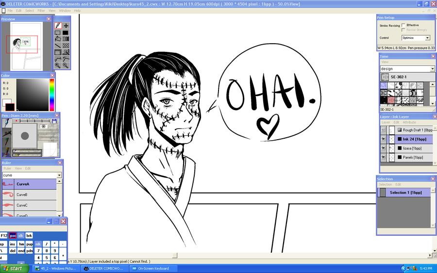 Iizasa says Hi by Kikirini