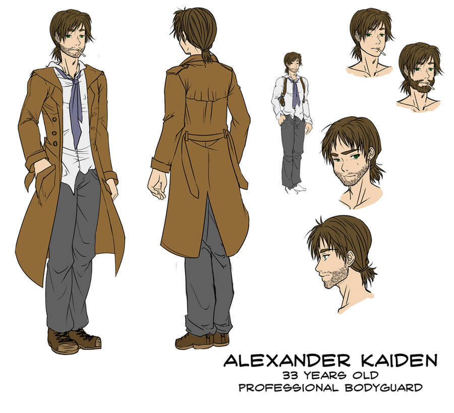 Alex Kaiden Ref by Kikirini