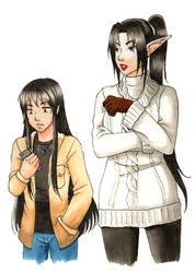 Kijo and Yasha - Fall fashion