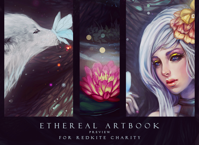 Ethereal Artbook Preview by serafleur