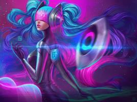DJ Sona Ethereal by serafleur