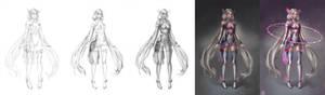 Kagami Sci-Fi AO Process