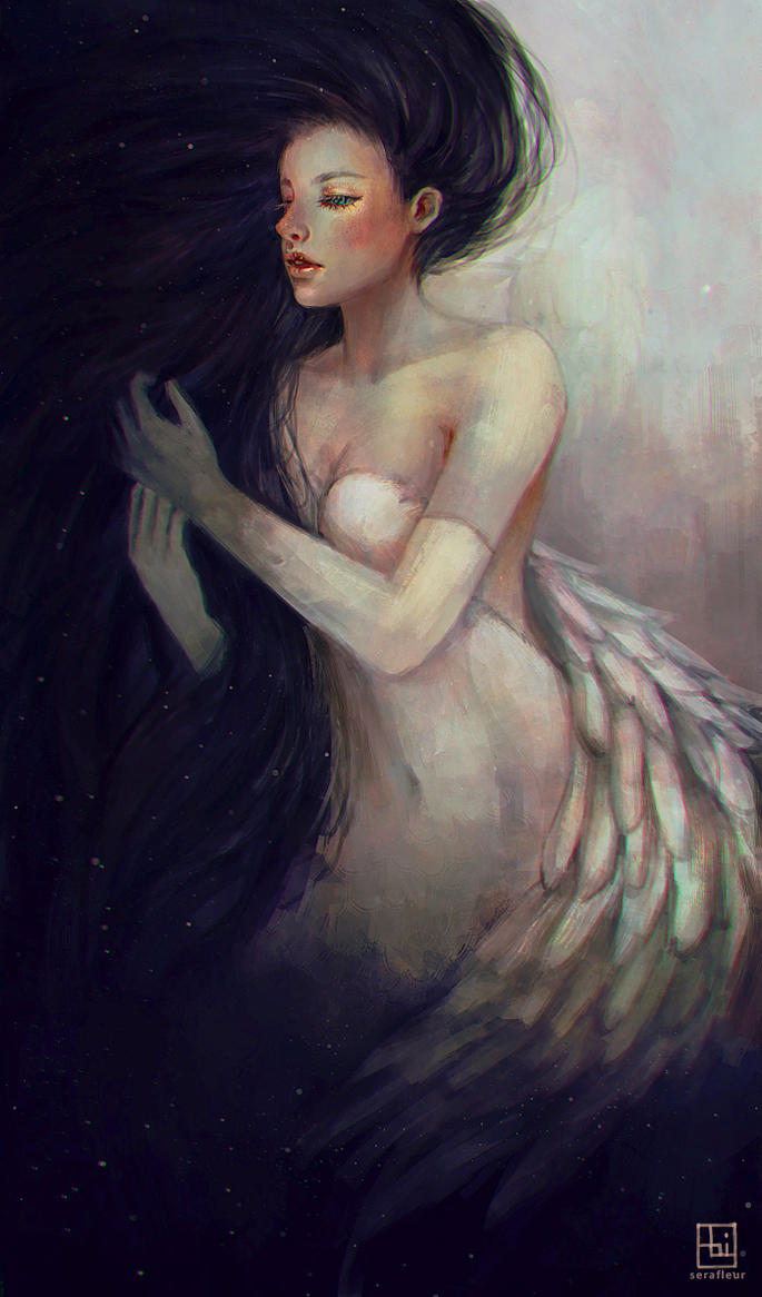 Embrace The Darkness by serafleur