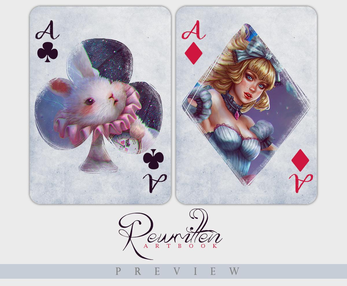 Rewritten Preview ~ Alice in Crystal Wonderland by serafleur
