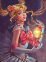 Sailor Moon by serafleur