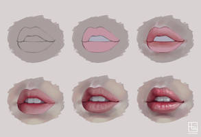 Semi-realistic Lips