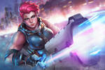 ZARYA - 21 Days of Overwatch