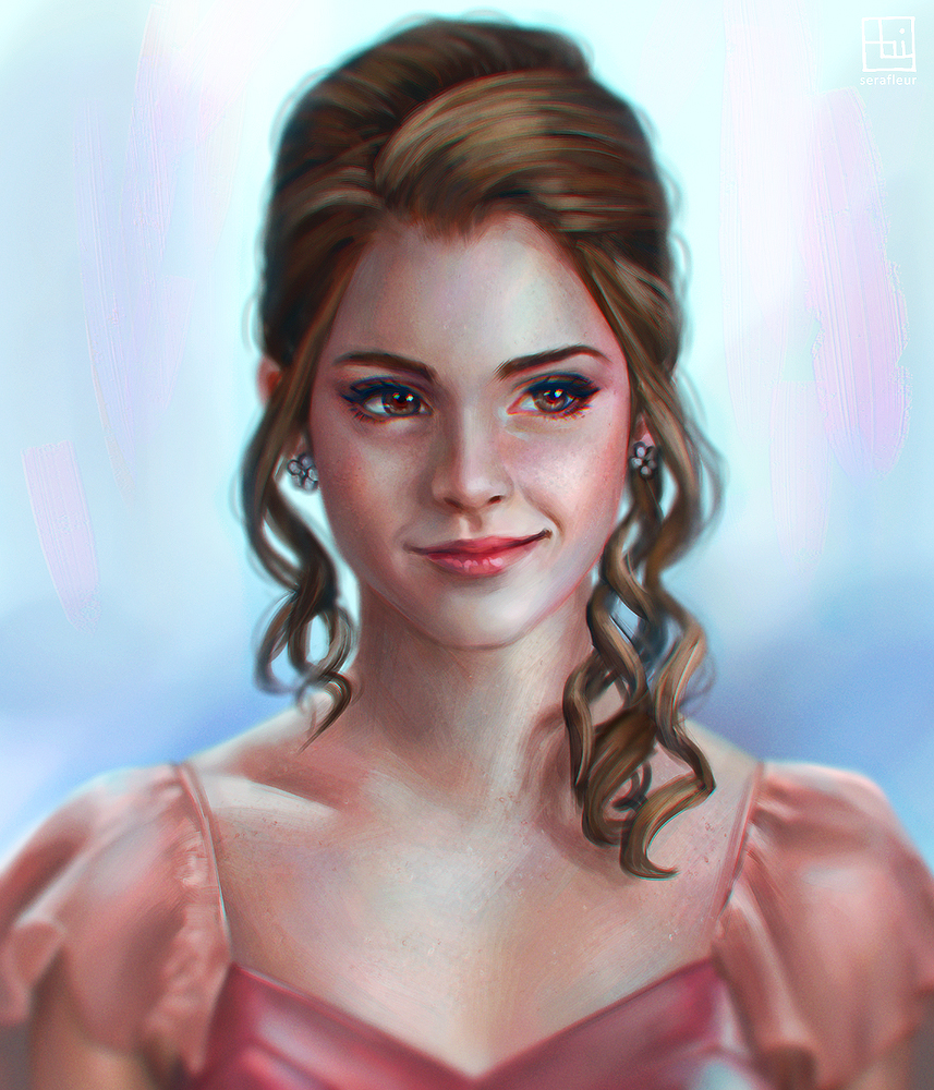 Hermione - Yule Ball by serafleur