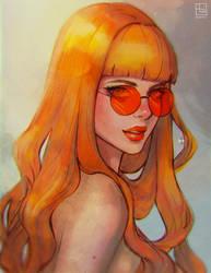 Sun by serafleur
