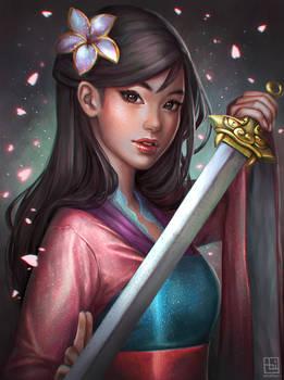 Mulan by serafleur