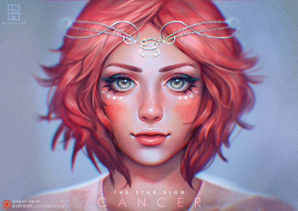 Cancer - The Star Signs by serafleur