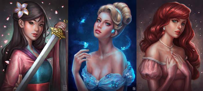 Disney Princesses [Batch 1]