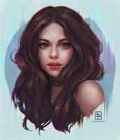 Selena Gomez by serafleur