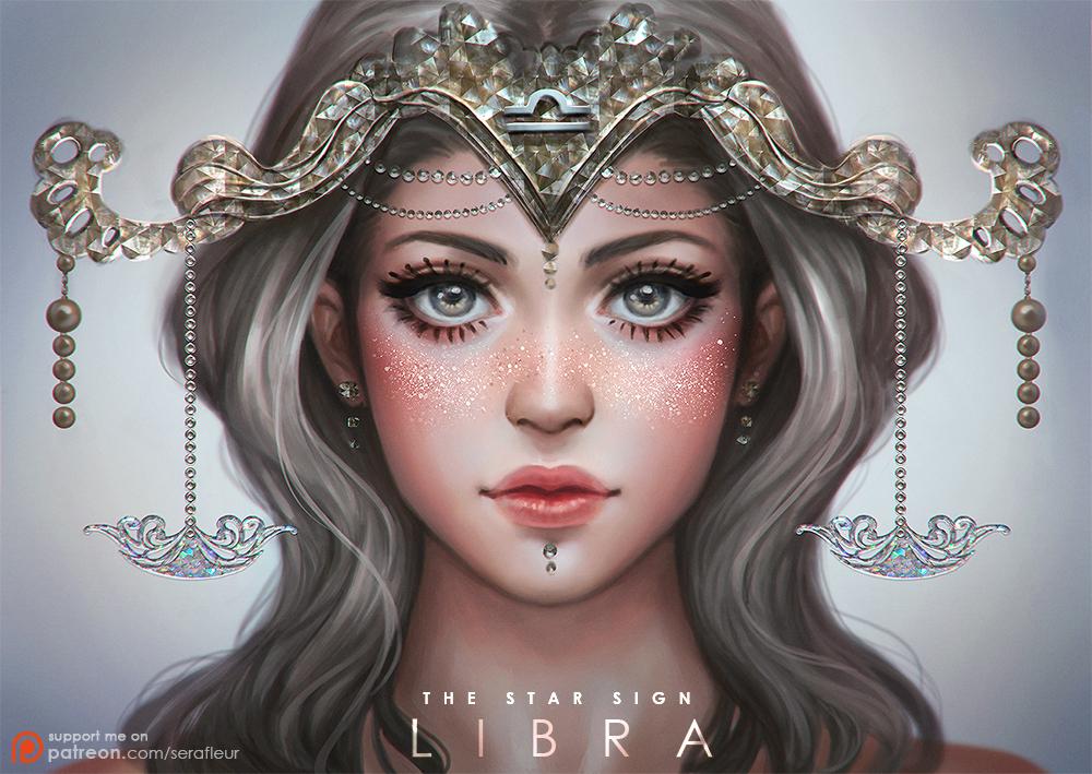 Libra - The Star Sign by serafleur