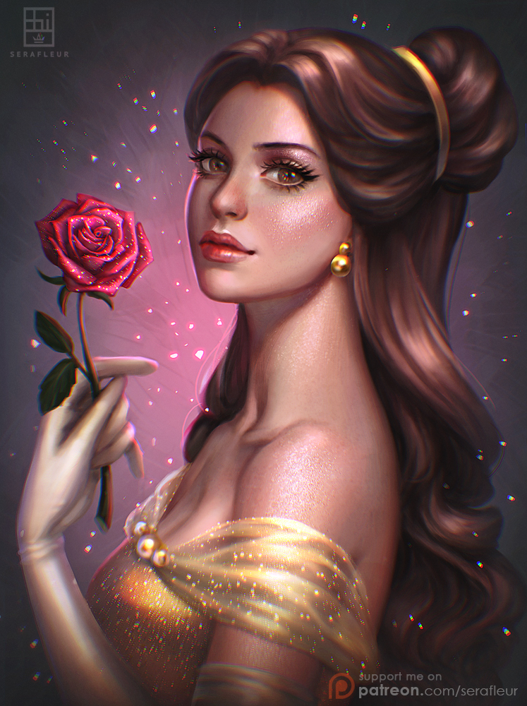 Belle by serafleur