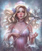 Celeste, The Star Maiden by serafleur