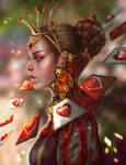 Rewritten Artbook: Queen of Hearts
