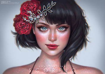 Scorpio - The Star Signs by serafleur