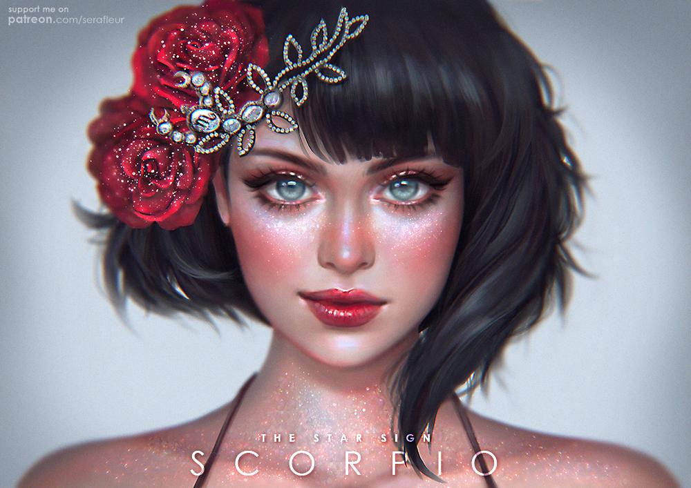 Scorpio - The Star Signs by serafleur