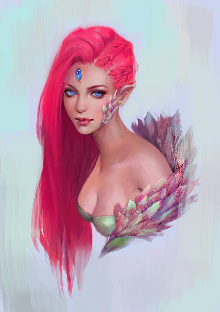 Astraea - DrawThisInYourStyle by serafleur