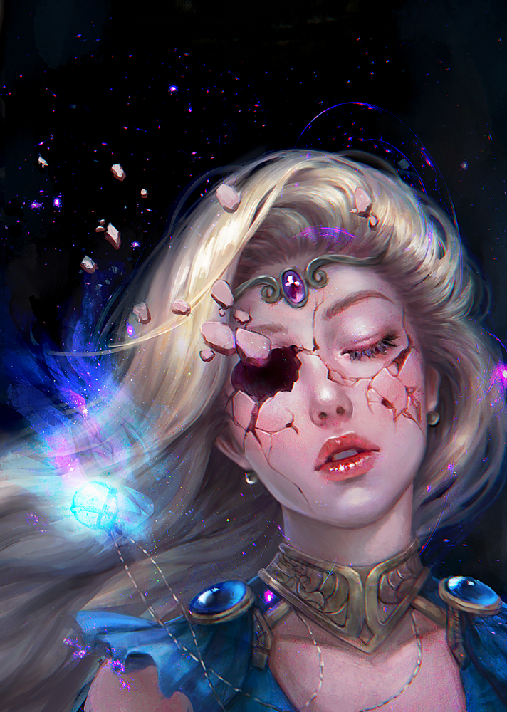 Awakening [Commission] by serafleur