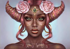 The Star Sign - Taurus by serafleur