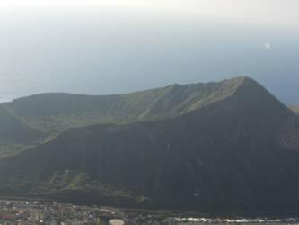 Diamond Head Crater in Hawaii