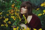 flowers by panic-pr0ne