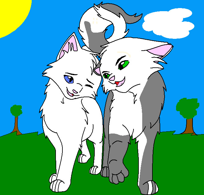 Warrior Cats Thistleclaw And Snowfur Snowfur and thistleclaw by