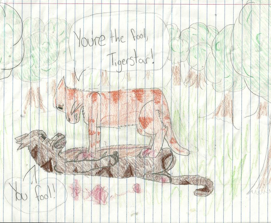 Lion vs. Tiger by RavenfeatherForever on DeviantArt