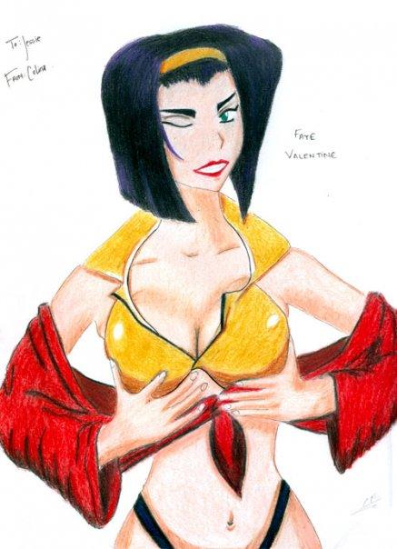 Faye Valentine by Celiyasha