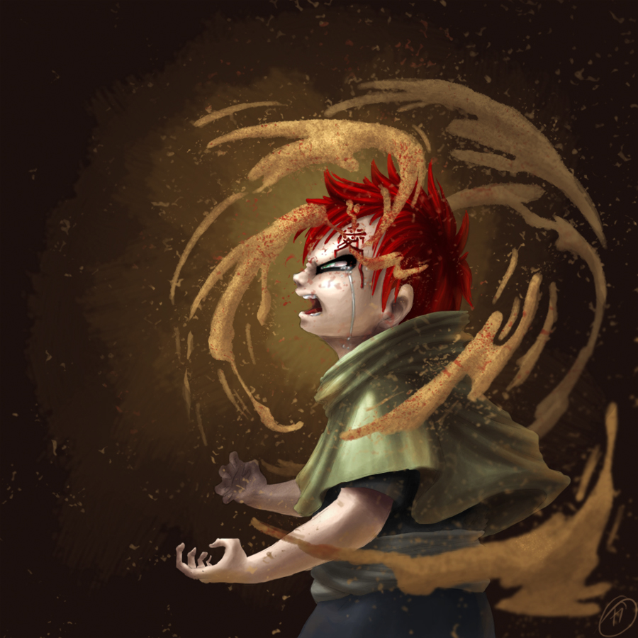 Gaara: 'Love' By Katakiari On DeviantArt