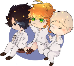 the promised neverland by KitKat-s