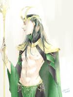 Prince Loki by mokonosuke