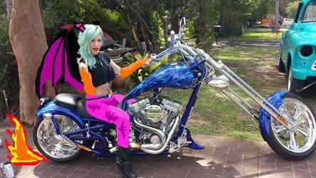 Biker MorriYas =P by FluffyLover1986