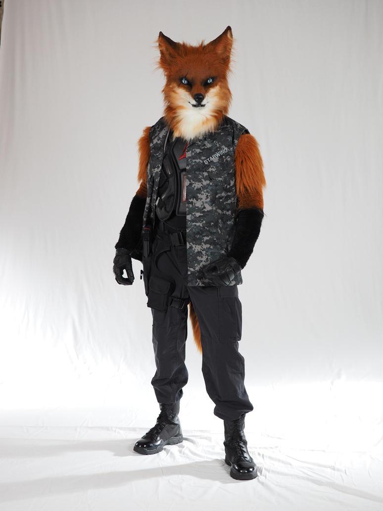 Fox on white by Fox-Starwing