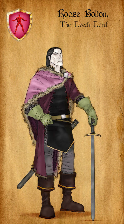 roose bolton by serclegane on deviantart