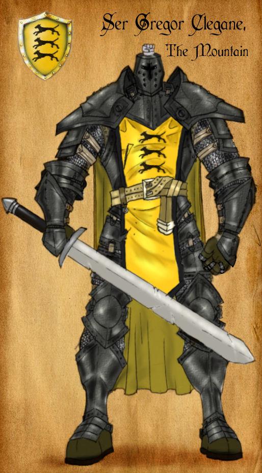 Ser Gregor Clegane 2.0 by serclegane