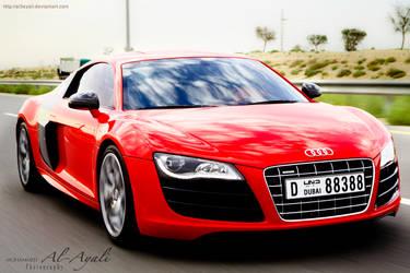 Audi R8 v10 by al3ayali