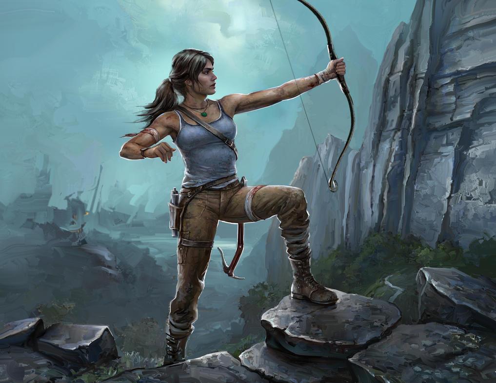 Tomb Raider Reborn by Melanie-roseart