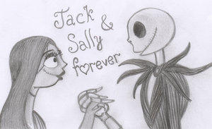 Jack and Sally forever by BurtonFanclub