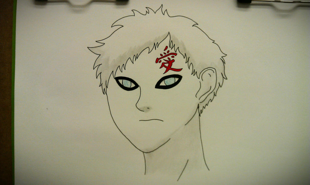 Gaara by xjuggernaughtx