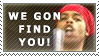 Bed Intruder Stamp by Bahamut20