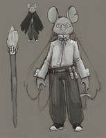 Mr. Mouse-Wizard by P-Flute
