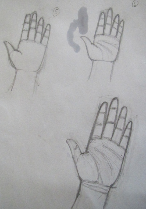 Drawing Lines On Your Wrist : How to draw hands part by klevry on deviantart