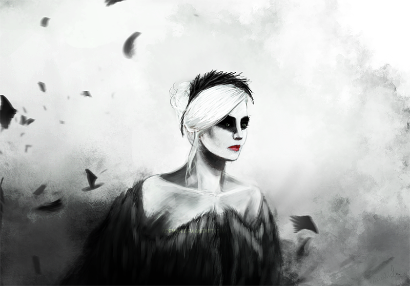 Dark swan princess by adenah