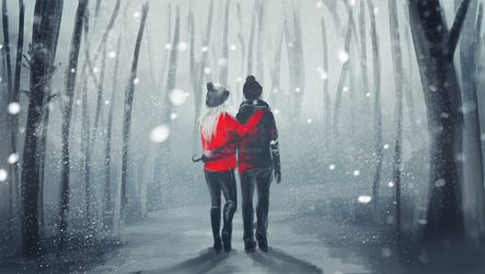 Winter wonderland by adenah